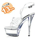13 cm heels! チューブラインミュール (clear) and Mimi ☆ 7,000 yen or more in