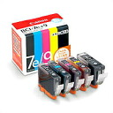 Four colors of Canon 1018B003 ink tank BCI-7e (BK/C/M/Y) + BCI-9BK multipacks