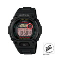 """BLX1021JF mounted with CASIO Casio Baby-G """"G-LIDE"""" (G ride) tide graph"""