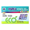 Six colors of Sanwa Supply IC6CL32 type reproduction ink cartridge pack JIT-E326P