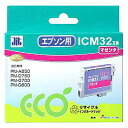 Sanwa Supply ICM32 type reproduction ink cartridge (magenta) JIT-E32M