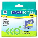 Sanwa ICY32 type remanufactured ink cartridges (yellow) JIT-E32Y
