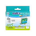 Sanwa Supply ICC33 type reproduction ink cartridge (cyan) JIT-E33C