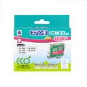 Sanwa Supply ICM33 type reproduction ink cartridge (magenta) JIT-E33M