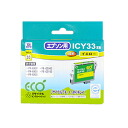 Sanwa ICY33 type remanufactured ink cartridges (yellow) JIT-E33Y