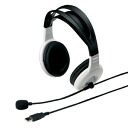 Sanwa supply USB headset (white) MM-HSUSB 7 W