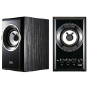 Sanwa supply wooden two-channel multimedia speakers (black) MM-SPWD2BK