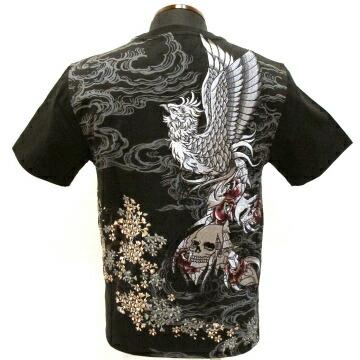 】半袖tシャツ〔刺青凤凰