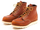 RED WING Red Wing 875 WORK CLASSIC classic Workshop 6-inch MOC-TOE mock-to oro-iginal オロイジナル