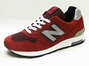 NEW BALANCE new balance M1400 CT chianti Chianti mens Womens sneakers NB Made In USA 1400