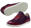 PUMA puma CLYDE BROGUE LO Clyde brogue low burgundy bar Gandhi sneakers Lady's