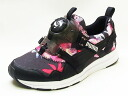 [advance reservation ]PUMA puma DISC BLAZE TROPICALIA WMNS disk blaze fatty tuna atomic bomb rear women black black sneakers 14SS]