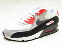 90 NIKE nike AIR MAX ESSENTIAL Air Max essential white/black/red white / black / inflation ard sneakers 14SS