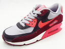 90 90 NIKE nike WMNS AIR MAX ESSENTIAL women Air Max essential gray/team red/anthracite gray / red / アンスラサイト 14SS