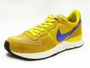 NIKE nike LUNAR INTERNATIONALIST luna internationalist yellow/blue yellow / blue sneakers 14SS