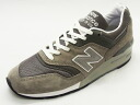 [14SS made in the advance reservation ]NEW BALANCE New Balance M997 GY gray gray sneakers NB Made In USA United States]