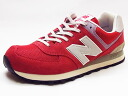 NEW BALANCE New Balance ML574 DRD red red sneakers 14SS