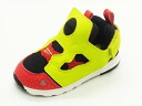 [advance reservation ]Reebok Reebok VERSA PUMP FURY バーサポンプフューリー black/yellow/red black / yellow / red sneakers kids 14SS]