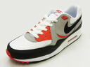 NIKE nike AIR MAX LIGHT ESSENTIAL Air Max light essential white/gray/red white / gray / red sneakers 14SS