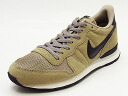 NIKE nike INTERNATIONALIST LEATHER internationalist leather beige/black/gray beige / black / gray 14FW