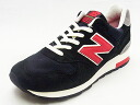 [advance reservation ]NEW BALANCE New Balance M1400 HB black/red black / red sneakers NB Made In USA 14FW]