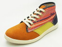 ZEHA ツェハ HARZ W Harz women orange orange sneakers 14SS