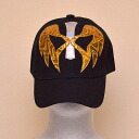 Wrestling mask Cap (black): アンヘルデオロ (1)