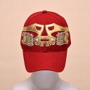 The cap (red) of the professional wrestling mask: カネック (1)