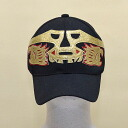 Wrestling mask Cap (black): Janek (4)