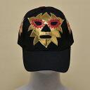 Wrestling mask Cap (black): Solar (1)