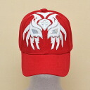 Wrestling mask Cap (red): Sombra (2)