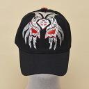 Wrestling mask Cap (black): Sombra (3)