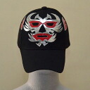 Wrestling mask Cap (black): ドスカラス (3)