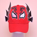 Wrestling mask Cap (red): ドラゴンロホ (2)