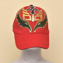 Wrestling mask Cap (red): Rey Mysterio (1)