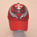 The cap (red) of the professional wrestling mask: レイミステリオ (7)