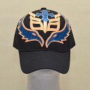 Wrestling mask Cap (black): Rey Mysterio (11)