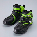 Waterproof with / ELF シンテーゼ 14 riding shoes Kawasaki green / lime green elf synthese14 vapor