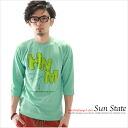 T-shirt / 7 sleeves printed SUN STATE Kurashiki Kojima from /LS Net Limited Edition T shirt XS S M L XL size 05P06May15
