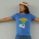 T shirt short sleeve design print LEMON TEE 10P10Nov13