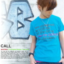 T shirt short sleeve print CALL OK ♪ NET limited message T shirt mens ladies design 10P13oct13_b