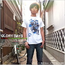 T shirt short sleeve printed GLORY DAYS OK ♪ NET limited message T shirt mens ladies design 10P13oct13_b