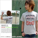 T shirt short sleeve print SHELL OK ♪ NET limited message T shirt mens ladies design 10P13oct13_b
