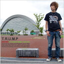 T shirt short-sleeved print T.R.U.M.P OK ♪ Net Limited Edition T shirt XS S M L XL 10P10Nov13