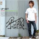 T shirt short sleeve design UPSET print soccer OK ♪ mi-215. ne-sorted limited message T Shirt Unisex 10P10Nov13