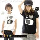 ♪ I LOVE TV! Net Limited Edition T shirt 10P13oct13_b