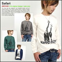 Safari mi-215. message long sleeve T shirt XS-XL 10P13oct13_b