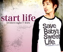 StartLife / NET limited メッセージラグラン T shirt 10P13oct13_b