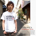 ♪ VERONICA mi-215. ne-sorted limited message T shirt 10P10Nov13