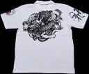 "It is fs3gm a Kyoto yuzen / sum pattern polo shirt ""whirlpool dragon"" (whirlpool Riyu)"